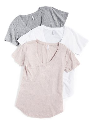Z Supply triblend pocket tee 3 pack
