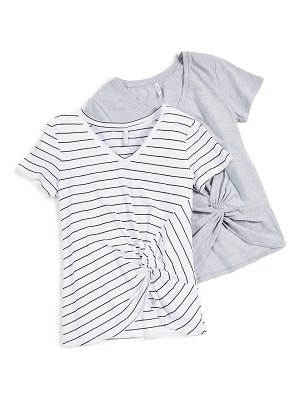 Z Supply twist front t-shirt 2 pack