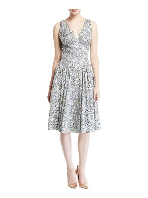 Zac Posen Liberty Cotton Sleeveless Dress