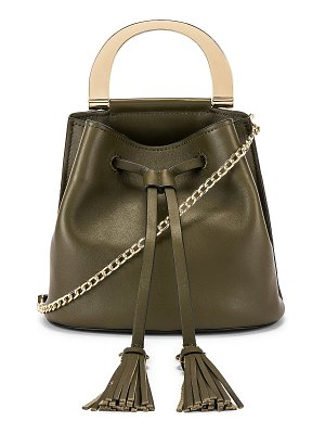 ZAC Zac Posen biba buckle soft bucket crossbody