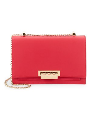 ZAC Zac Posen Earthette Leather Shoulder Flap Bag