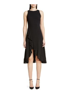 ZAC Zac Posen janice ruffle cocktail dress
