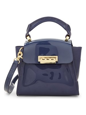 ZAC Zac Posen Medium Eartha Classic Patent Satchel