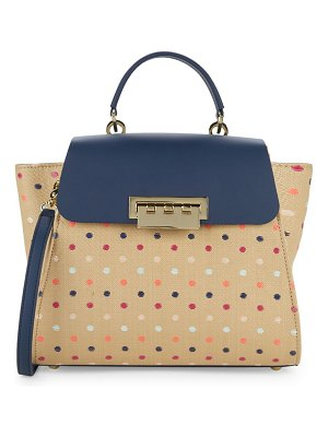 ZAC Zac Posen Eartha Polka Dot Shoulder Bag