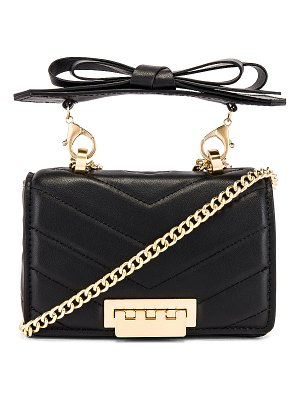 ZAC Zac Posen soft earthette mini chain shoulder bag