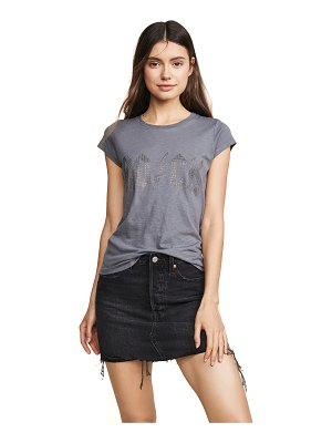 Zadig & Voltaire studded short sleeve tee