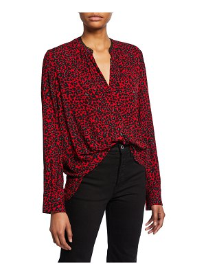 Zadig & Voltaire Tink Leopard-Print Tunic