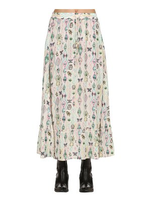 ZADIG&VOLTAIRE Printed viscose long skirt