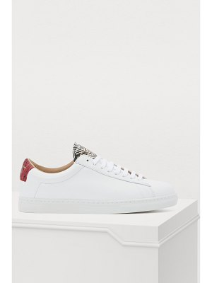 Zespa Nappa leather sneakers with insets