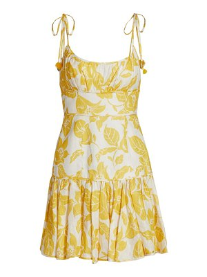 Zimmermann bells fit & flare mini dress