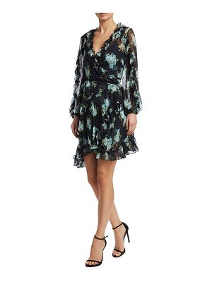 Zimmermann breeze ruffle wrap dress