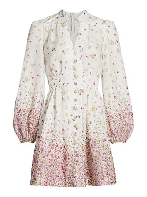 Zimmermann carnaby floral mini dress