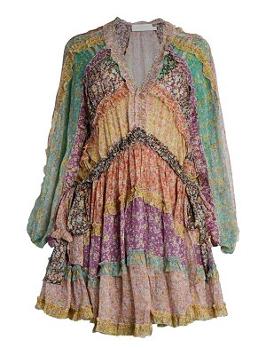Zimmermann carnaby frill dress