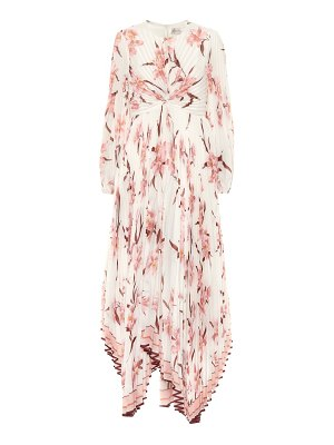 Zimmermann corsage floral maxi dress