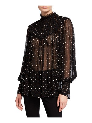 Zimmermann Espionage Swing Yoked Blouse
