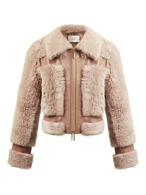 Zimmermann fleeting shearling bomber jacket