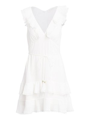 Zimmermann flutter lace mini dress