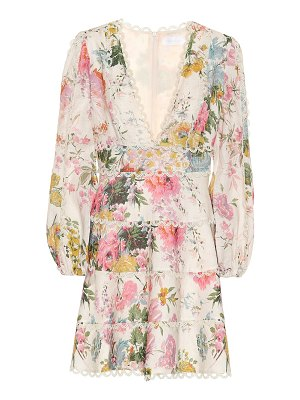 Zimmermann Heathers floral linen dress