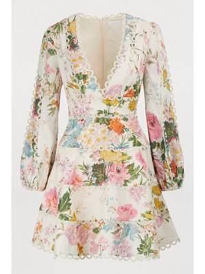 Zimmermann Heathers linen mini dress