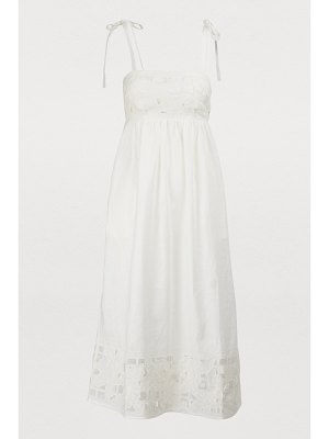 Zimmermann Juno linen dress