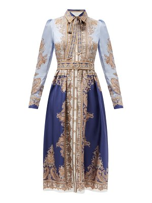 Zimmermann luminous paisley-print silk midi dress
