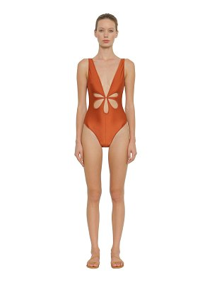 Zimmermann Primrose flower cut out one piece