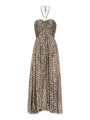 Zimmermann suraya printed silk maxi dress