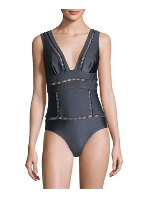 Zimmermann tali one-piece swimsuit