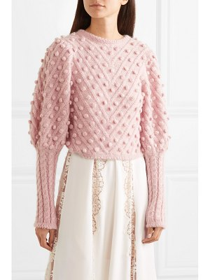 Zimmermann unbridled cable-knit sweater