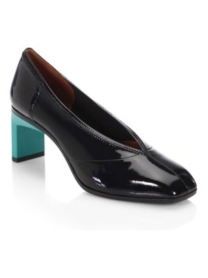3.1 phillip lim blade square toe pumps