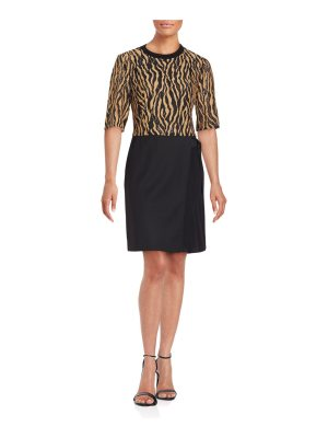 3.1 phillip lim Embroidered Mixed-Media Dress
