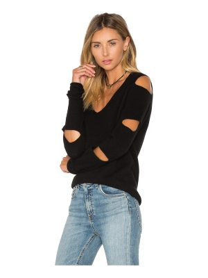 360Cashmere Tyrone Cut Out Sweater