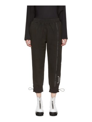 A-cold-wall* Exclusive Black Shrink Wrap Corded Utility Pants