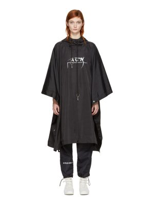 A-cold-wall* Exclusive Black Technical Poncho