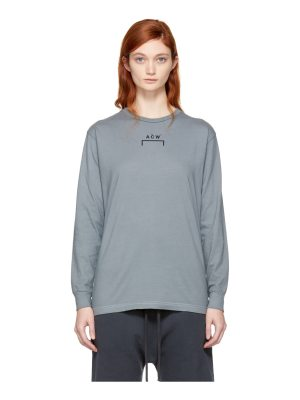 A-cold-wall* Long Sleeve Signature B-1 T-shirt