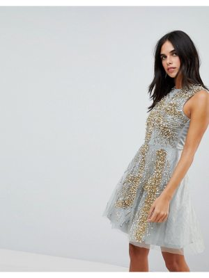 A Star Is Born embellished tulle prom dress