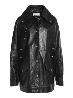 Acne Studios textured leather jacket