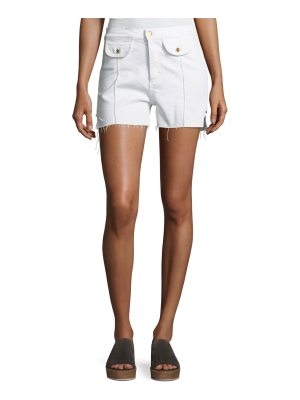 Acynetic Carrie High-Rise Denim Shorts