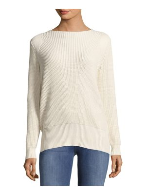 Adam Lippes Solid Rib-Knit Top