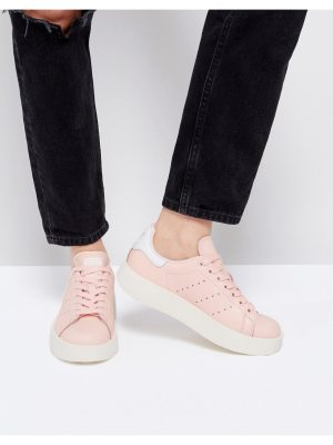 adidas Originals Pale Pink Stan Smith Bold Sole Sneaker