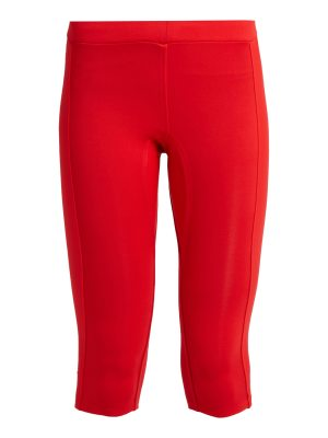 AEANCE Compression-panel cropped performance leggings