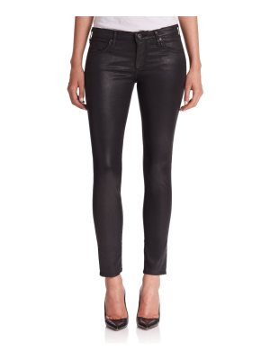 AG Adriano Goldschmied leatherette ankle leggings