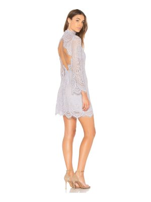 aijek Eva Backless Lace Dress