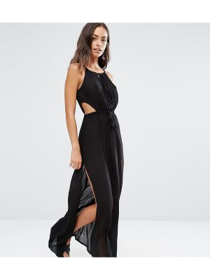 Akasa Keyhole Cut Out Beach Maxi Dress