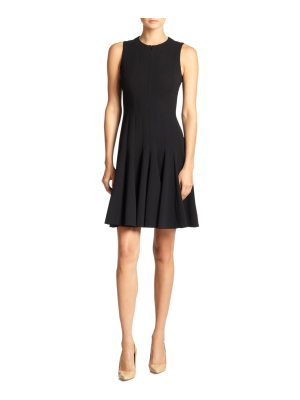 Akris double-face flare dress