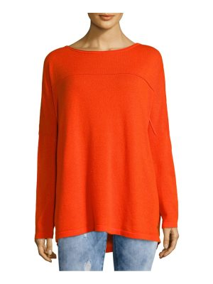 Akris Boatneck Cashmere Top