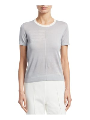 Akris knit cashmere & silk pullover