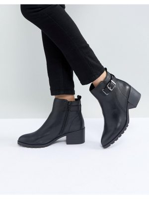 ALDO Etelawien Casual Leather Boot with Faux Fur Lining