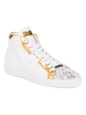 Alessandro Dell'Acqua Embellished High-Top Sneakers