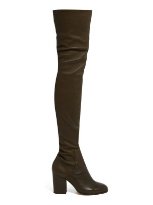Alexa Wagner Domino leather over-the-knee boots